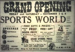 Sports World, Burlington MA