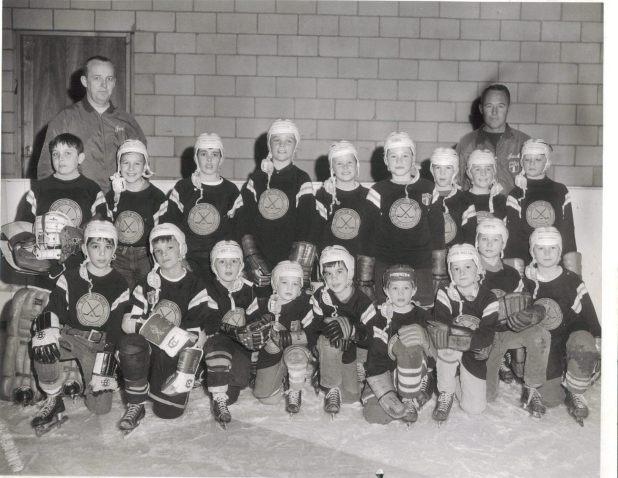 Burlington, MA youth hockey 1968-1969