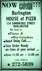 Burlington House of Pizza grand opening