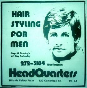 HeadQuarters, Burlignton MA
