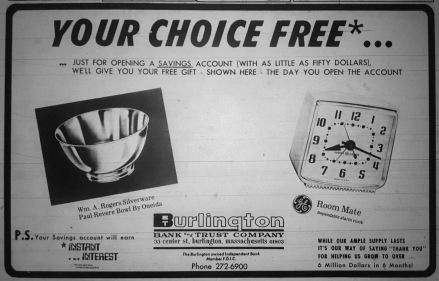 Burlington Bank and Trust Company