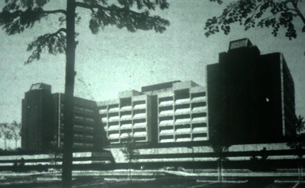 Lahey Clinic rendering, Burlington MA