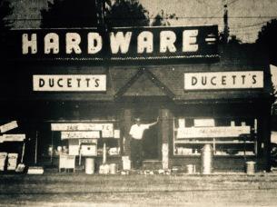 Ducett's hardware, Burlington MA