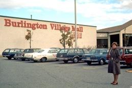 "Burlington VIllage ""Caldor"" Mall, Burlington MA 1981"