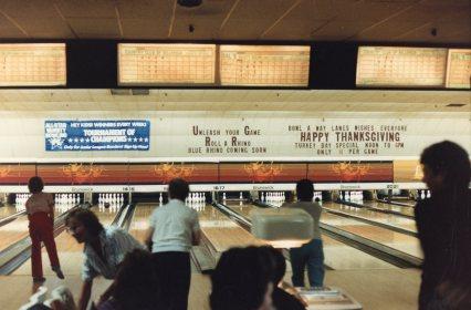 Brunswick scoreboard, Burlington MA