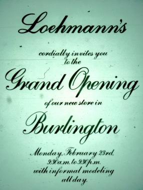 Loehmann's Burlington grand opening