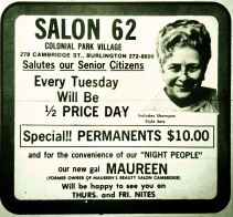 Salon 62, Burlington MA
