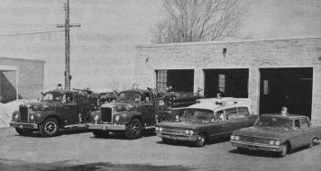 Mid-60s fire department Burlington MA
