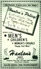 Hanlon's Shoes Burlington MA