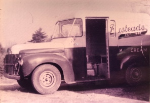 Bustead's delivery truck