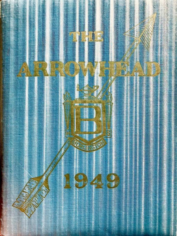 1949 Burlington High School yearbook cover