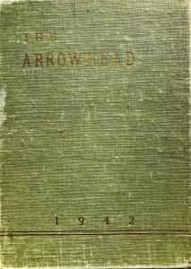 1942 Burlington High School yearbook cover