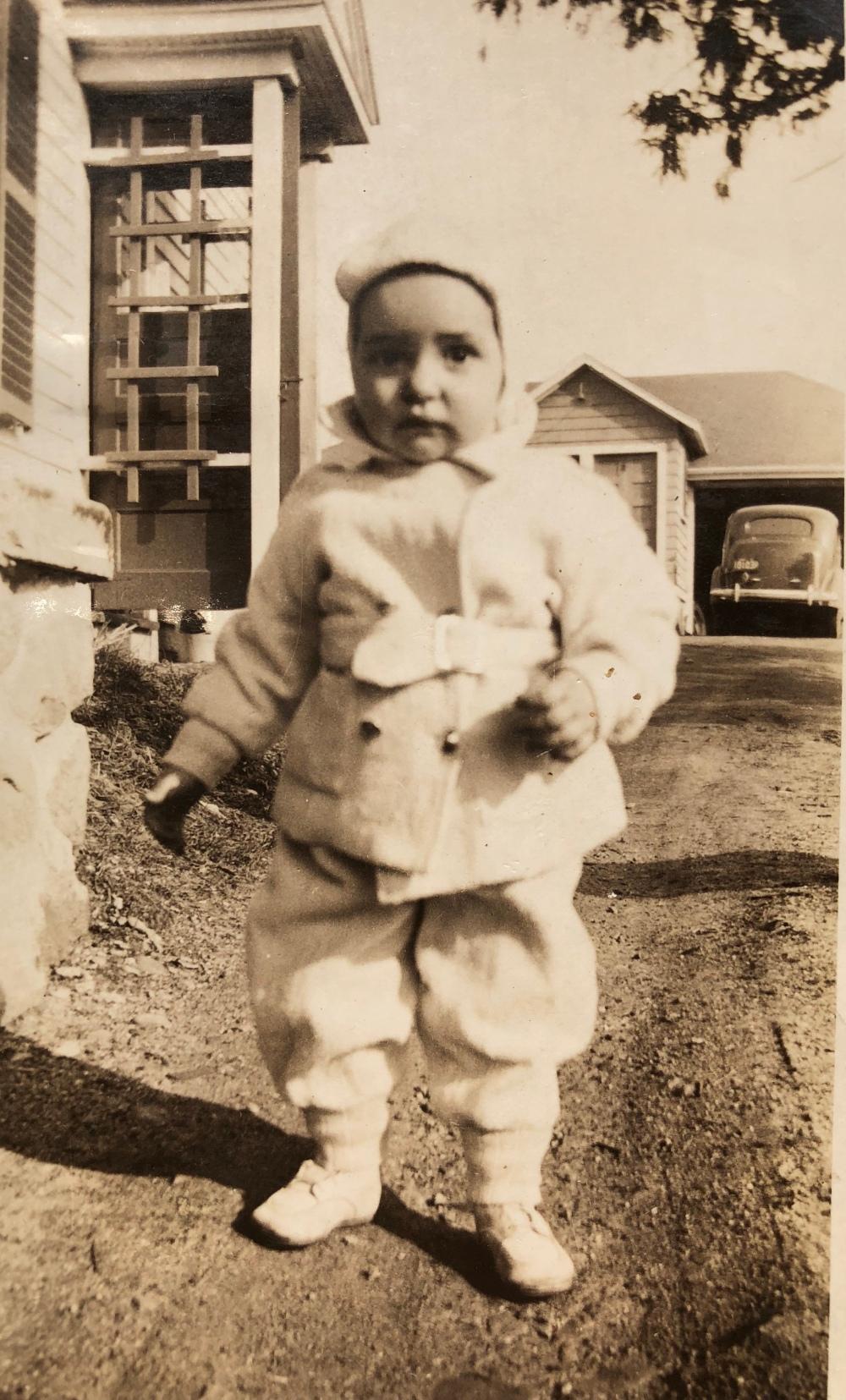 Joan Bustead toddler