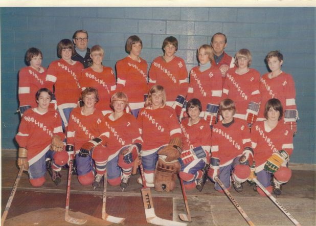 Burlington Hockey 1971-1972