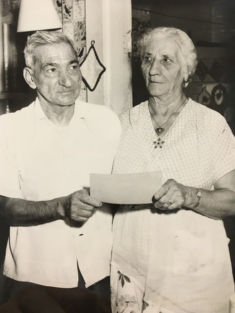 Stylianos Rahanis and his wife