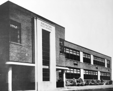 Burlington High School in Center School building