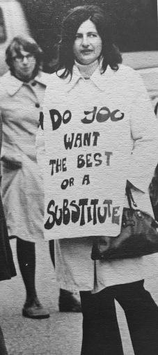 Teachers' strike 1973, Burlington MA