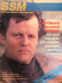 Carl Olson, magazine cover