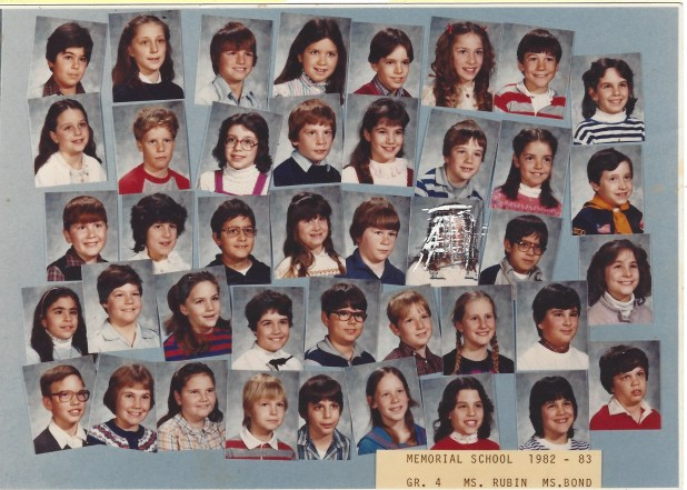 1982 Ms Rubin, Memorial School Burlington MA