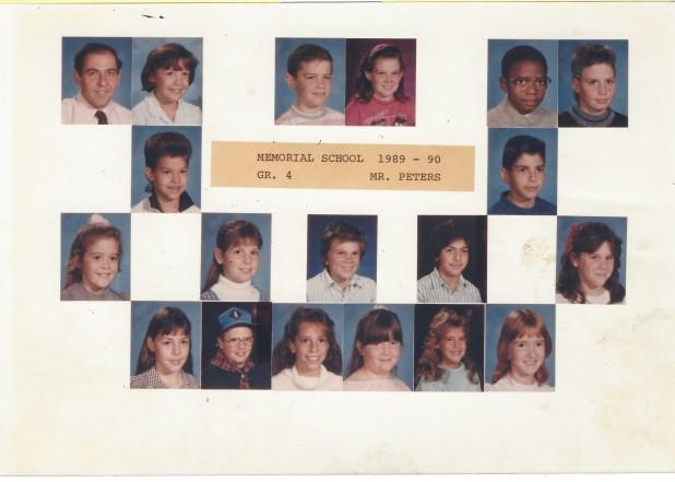 1989 Mr. Peters, Memorial School Burlington MA