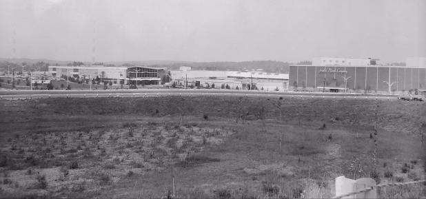 Burlington Mall sweeping shot 1968
