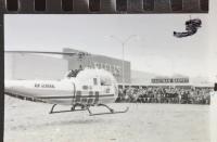 Chopper arrives