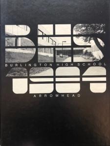 1984 Burlington High School yearbook, Burlington MA